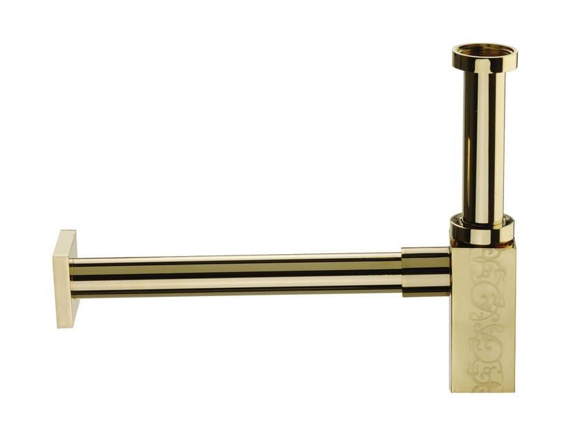 Washbasin brass siphon TWIN DEKORA | Siphon by Daniel Rubinetterie
