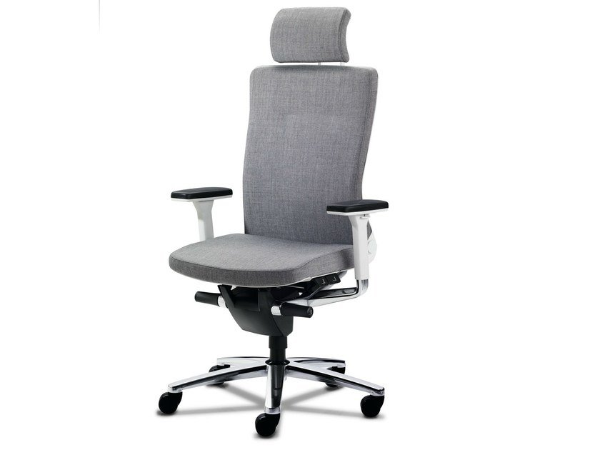 Executive chair with 5-spoke base with armrests LAMIGA | Executive chair by König Neurath