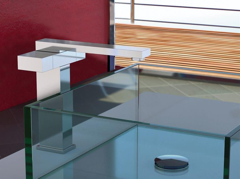 Countertop 1 hole washbasin mixer TWIN | Miscelatore per lavabo alto by Daniel Rubinetterie