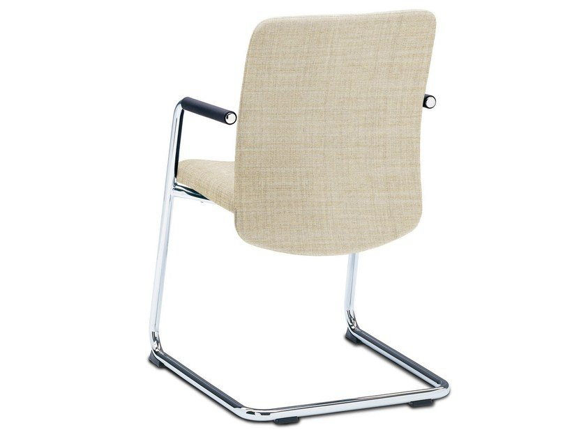 Cantilever chair with armrests JET by König Neurath
