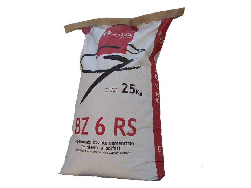 Cement-based waterproofing product BZ 6 RS by GAIA