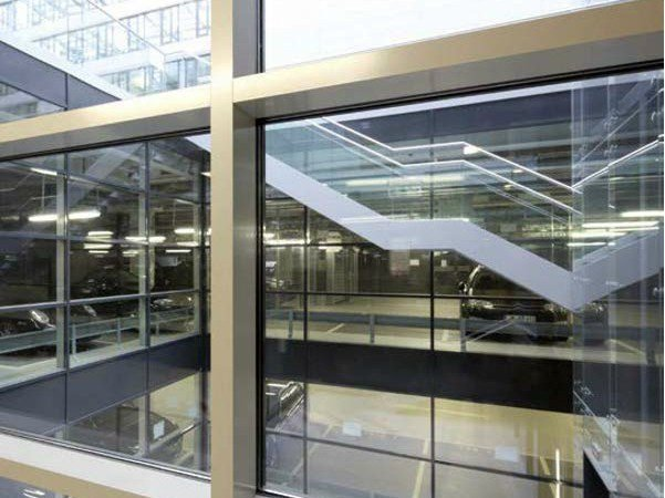 Structural glass facade WICTEC 50FP / WICTEC 60FP by WICONA