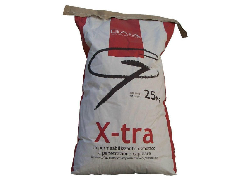 Cement-based waterproofing product X-TRA by GAIA