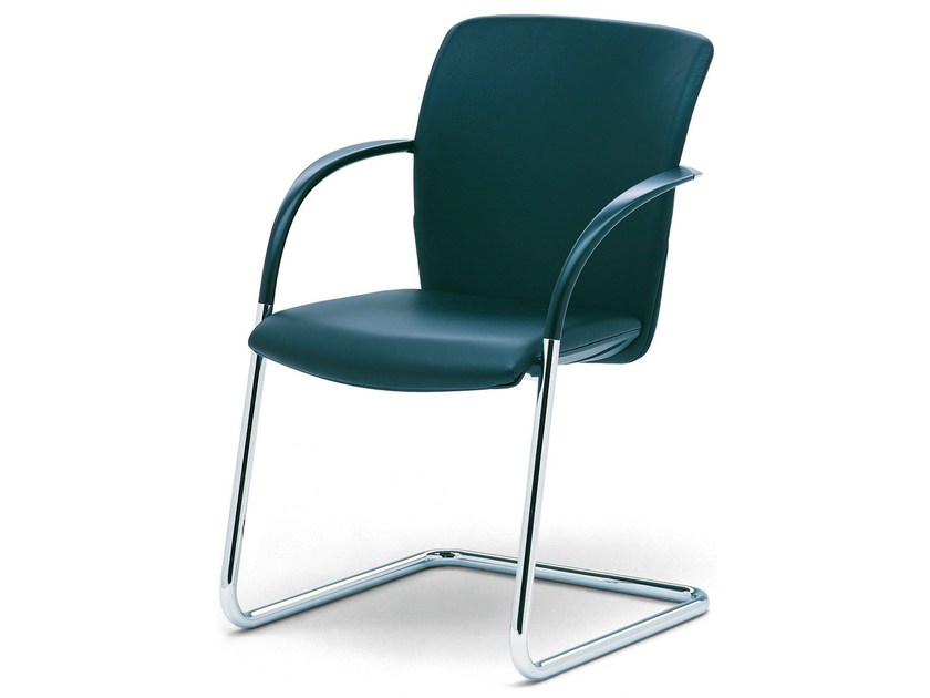 Reception chair with armrests OKAY by König Neurath