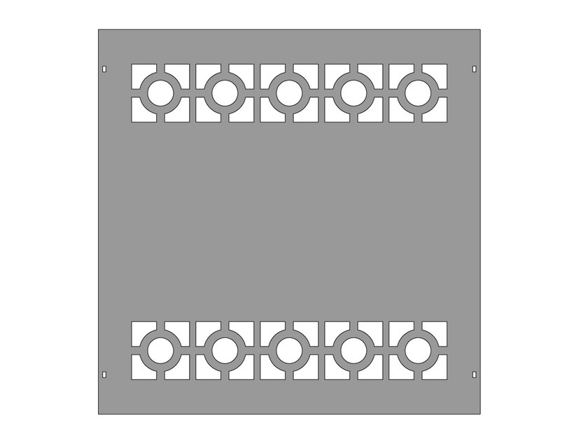 Modular iron Fence PAN.22 by CITYSì recinzioni