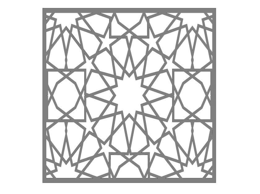 Modular iron Fence PAN.37 by CITYSì recinzioni