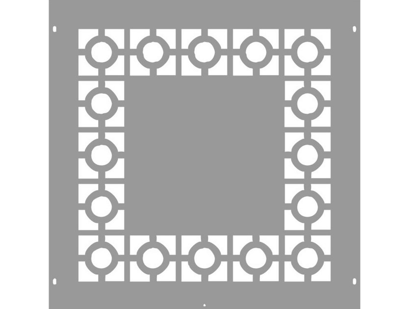 Modular iron Fence PAN.07 by CITYSì recinzioni