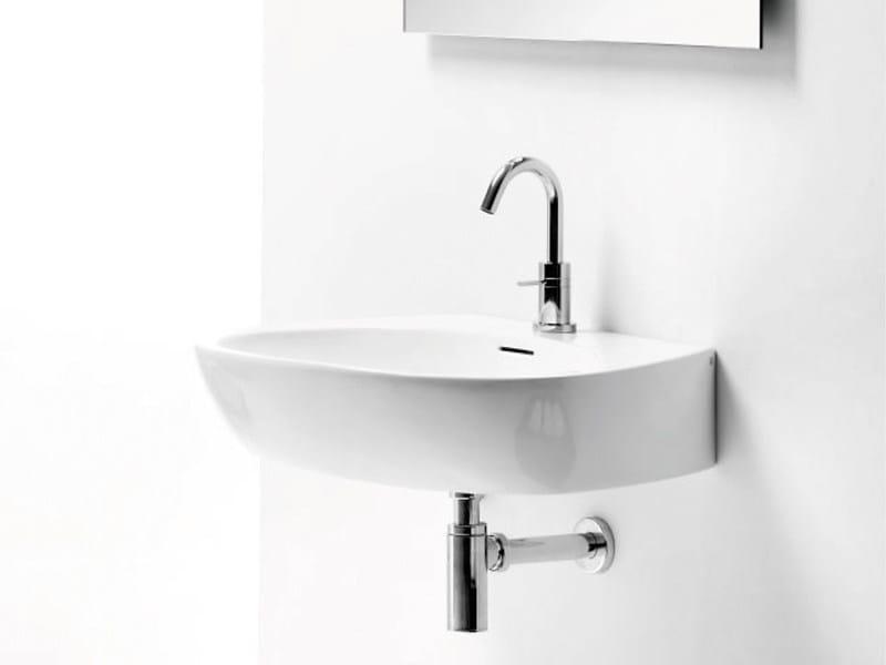 Countertop wall-mounted washbasin OVAL BASIN CR by A. e T. Italia