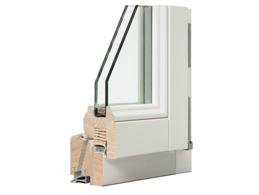 Wooden double glazed window BACH by Italserramenti