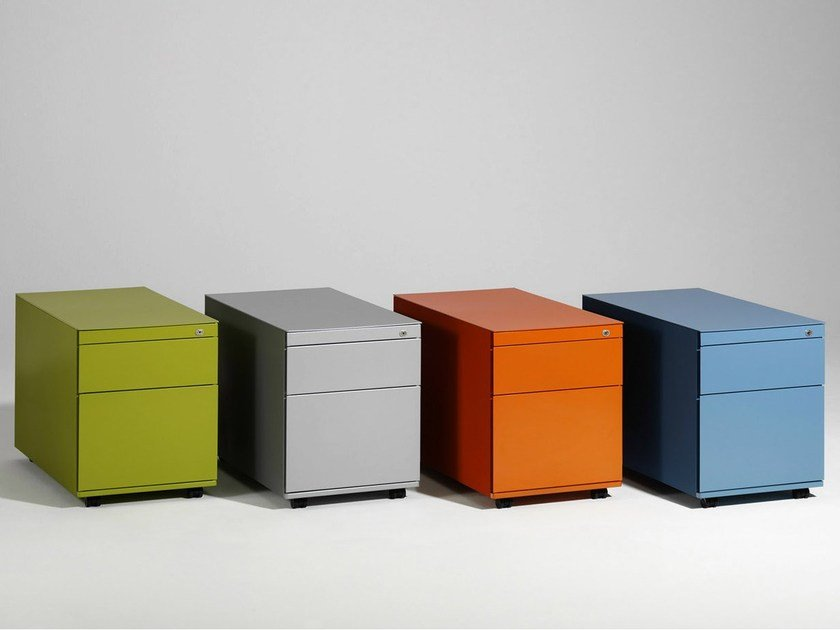 Office drawer unit with casters CONTAINER by König Neurath