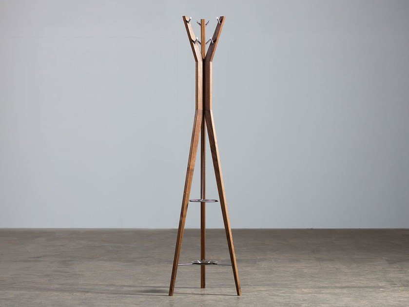 Wooden coat stand HANNY | Coat rack by Artisan