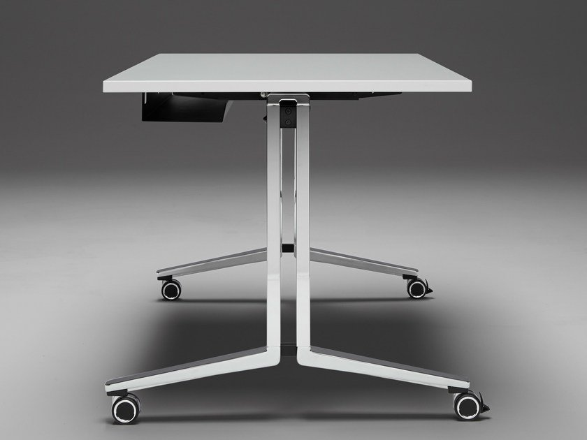 Meeting table with casters PLENUM K by König Neurath