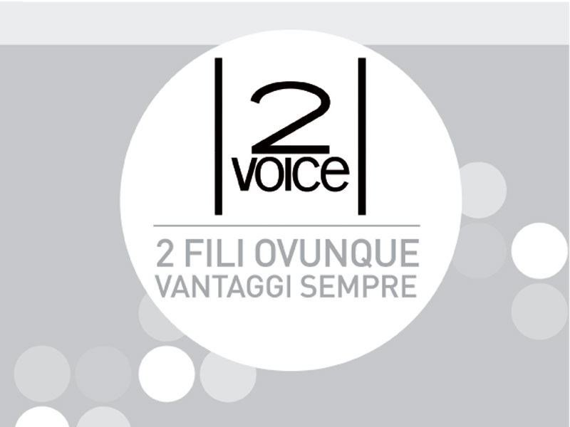 Video entryphone system and equipment 2VOICE by Urmet