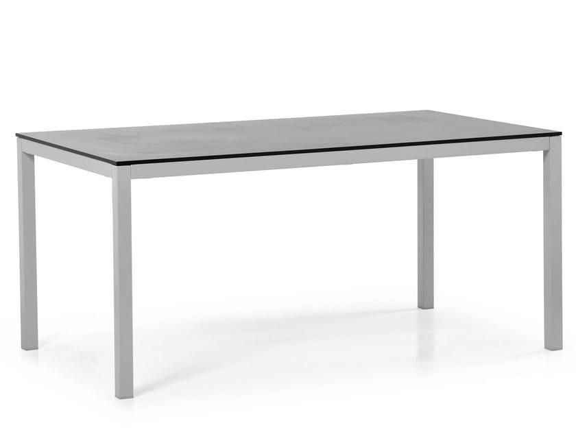 Rectangular HPL table VICTOR | Rectangular table by Varaschin