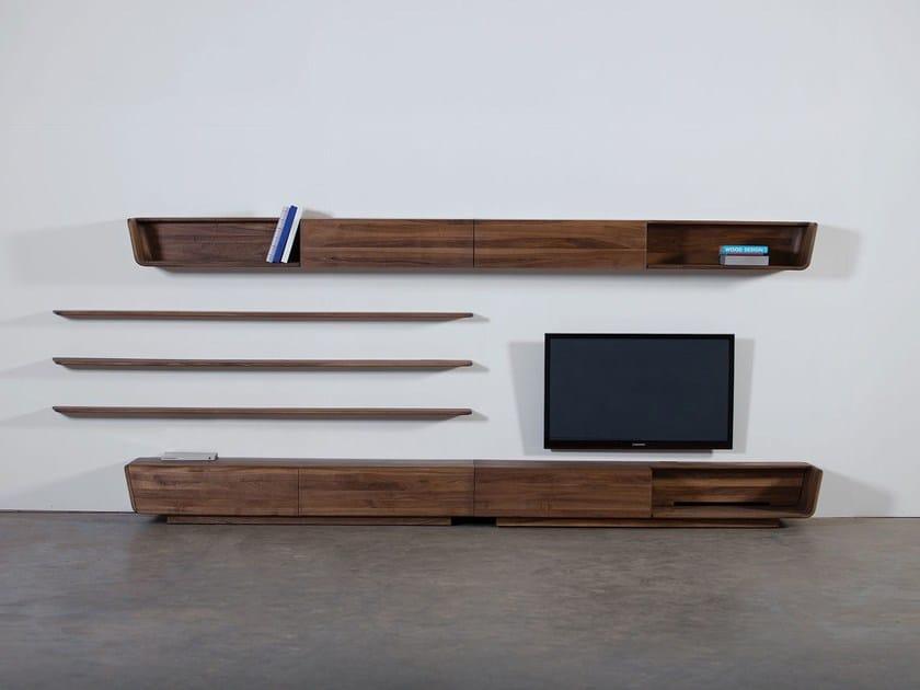 Wooden storage wall LATUS | Storage wall by Artisan
