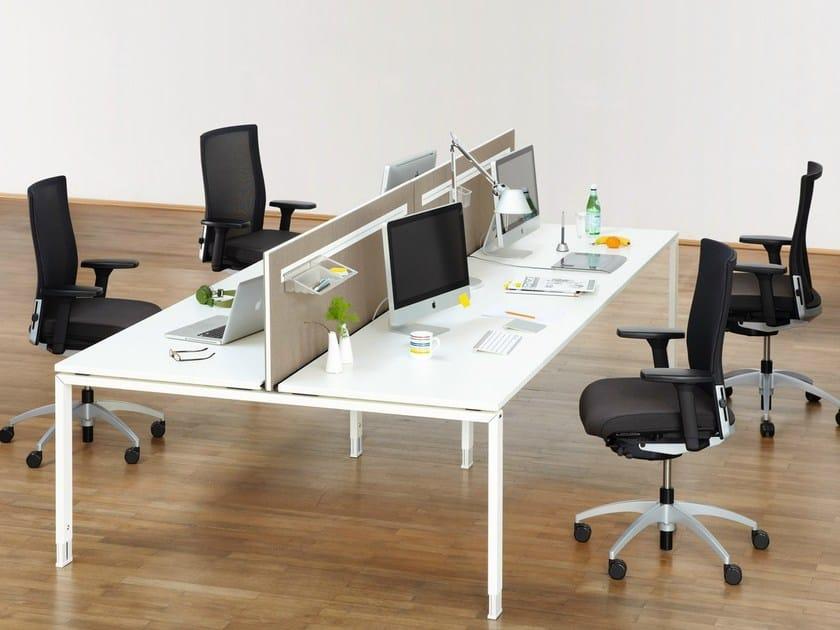 Multiple office workstation DO IT.4   Office workstation by König Neurath