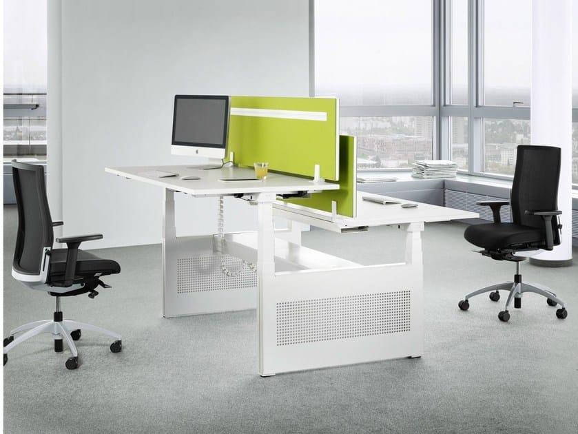 Multiple office workstation TALO.S by König Neurath