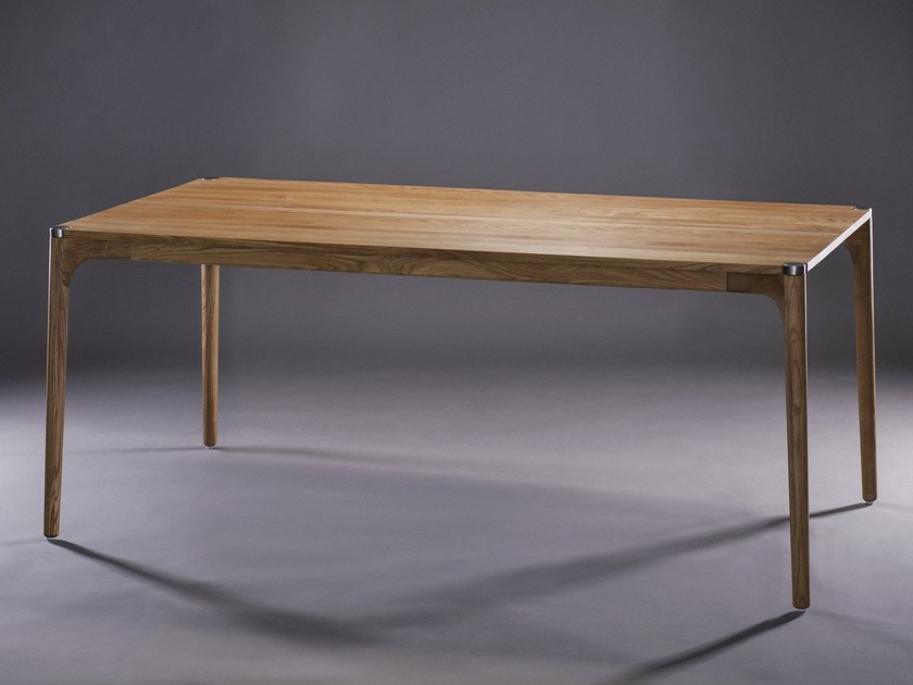 Rectangular wooden table NARU | Table by Artisan
