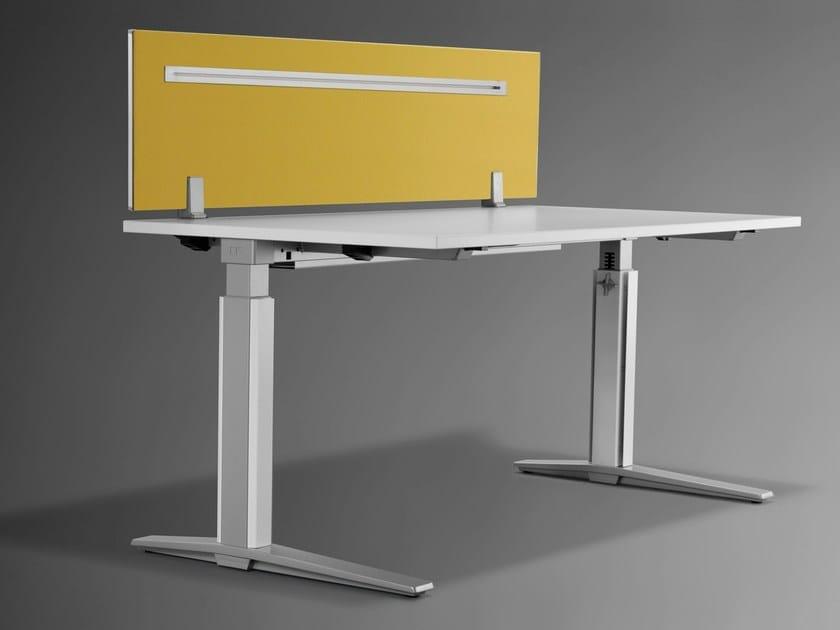 talo s schreibtisch trennwand f r schreibtisch by k nig neurath. Black Bedroom Furniture Sets. Home Design Ideas