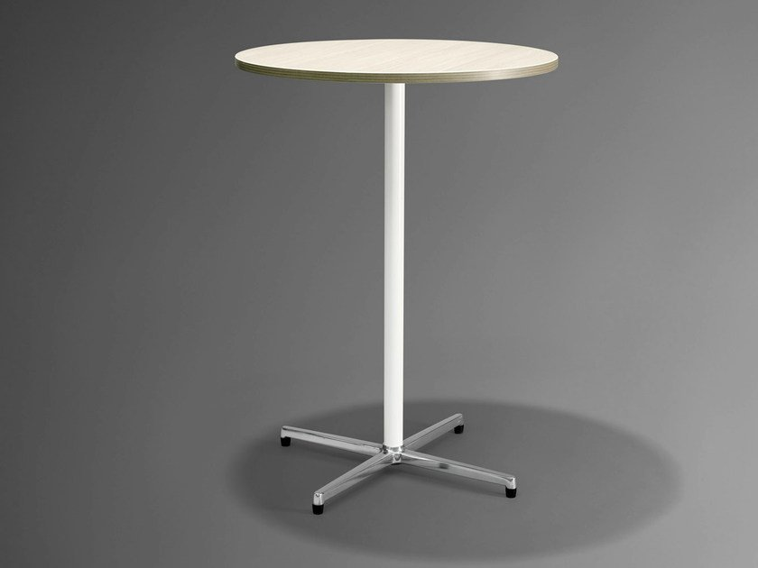 Round high table NET.WORK.PLACE | High table by König Neurath
