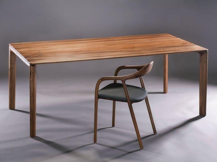 Rectangular wooden table NEVA   Table by Artisan