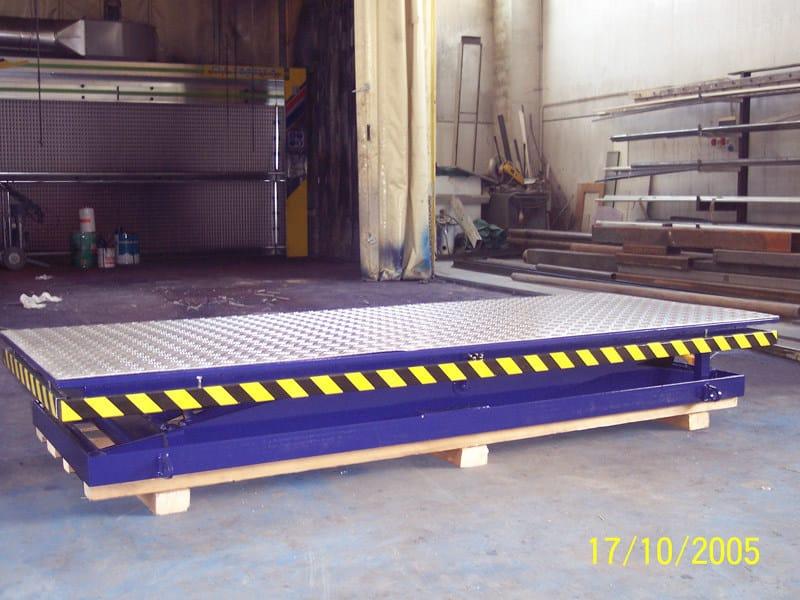 Piattaforme a pantografo Piattaforma singolo pantografo