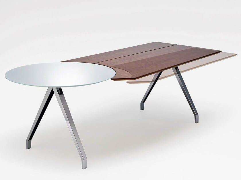 Wooden executive desk TABLE | Executive desk by König Neurath