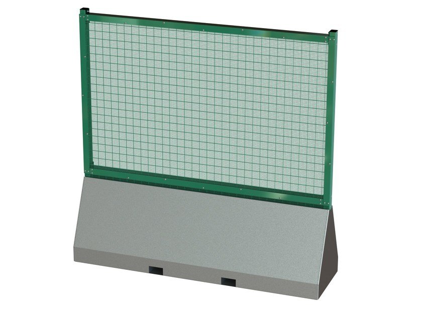 Security modular Fence PUBLIFOR® DOUBLE SKIN by BETAFENCE ITALIA