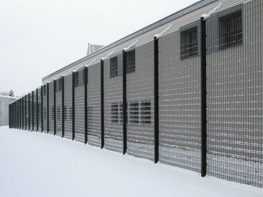 Security wire mesh Fence SECURIFOR® 4D by BETAFENCE ITALIA