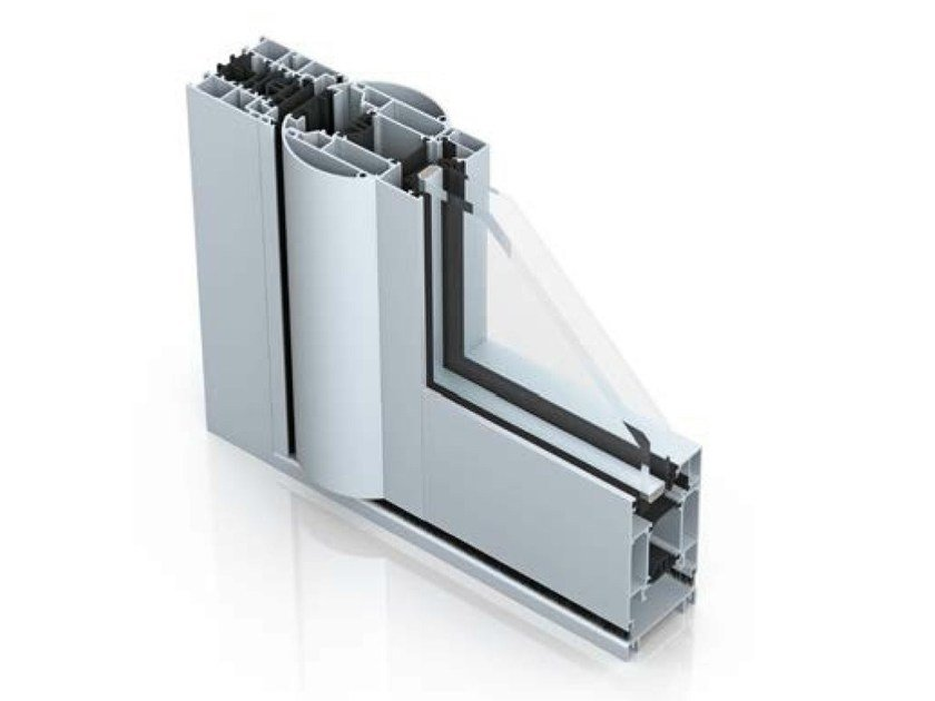 Aluminium patio door WICSTYLE 65 evo by WICONA