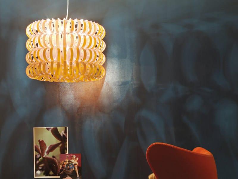 Glass pendant lamp ECOS SP 60B by Vetreria Vistosi