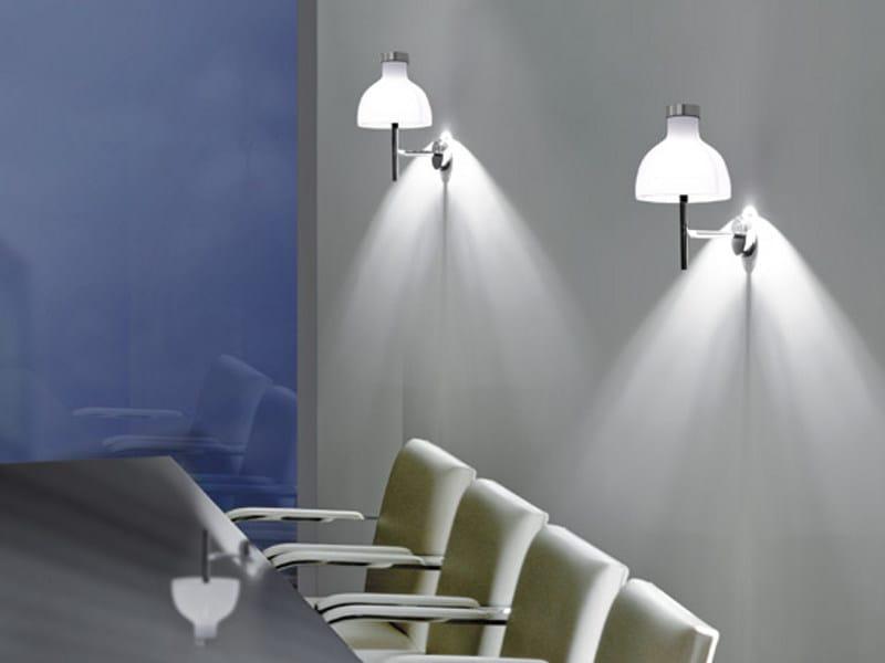 Blown glass wall lamp ENNE LUCI AP by Vetreria Vistosi