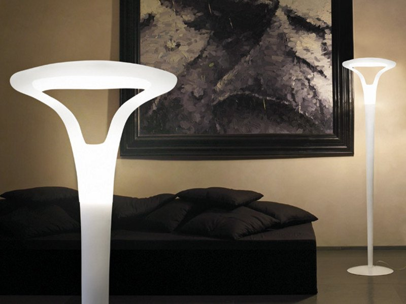 Murano glass floor lamp FEREA PT by Vetreria Vistosi