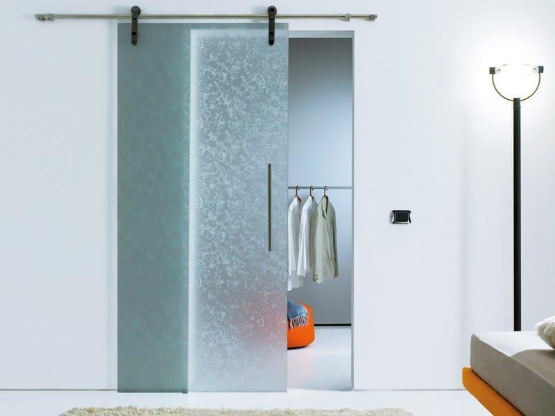 Decorated float glass MADRAS® KYOTO by Vitrealspecchi