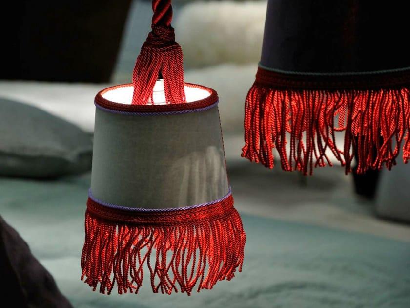 Velvet pendant lamp ABATJOUR by BAXTER