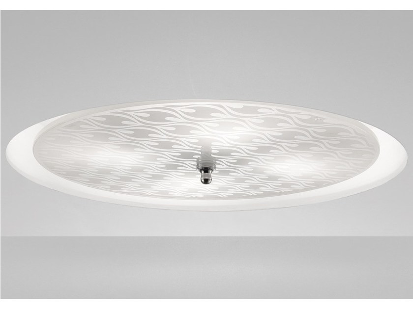Wall lamp / ceiling lamp INCASS PP 45 by Vetreria Vistosi