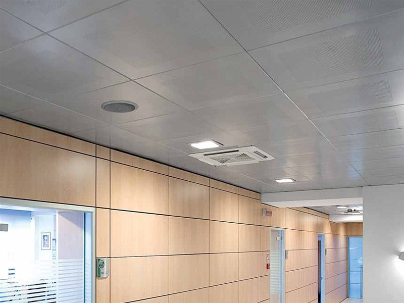 Galvanized steel ceiling tiles STAR METAL CLIP-IN by ITP