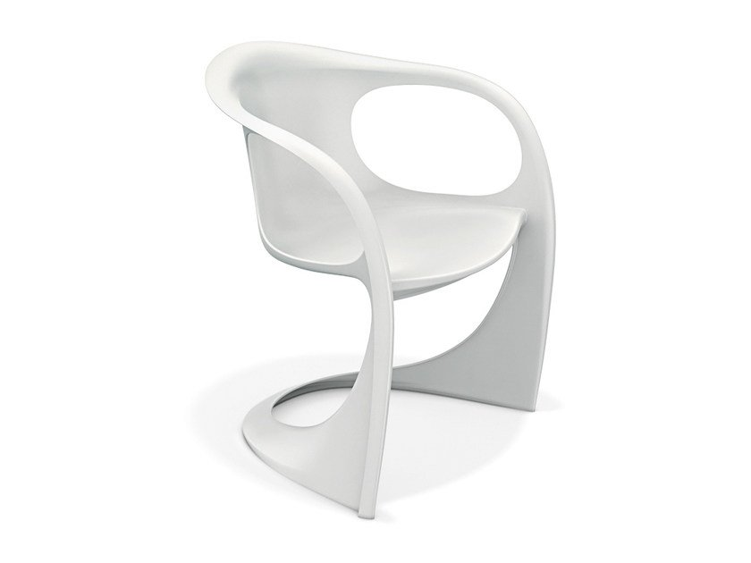 Cantilever chair with armrests CASALINO 2007-10 by Casala