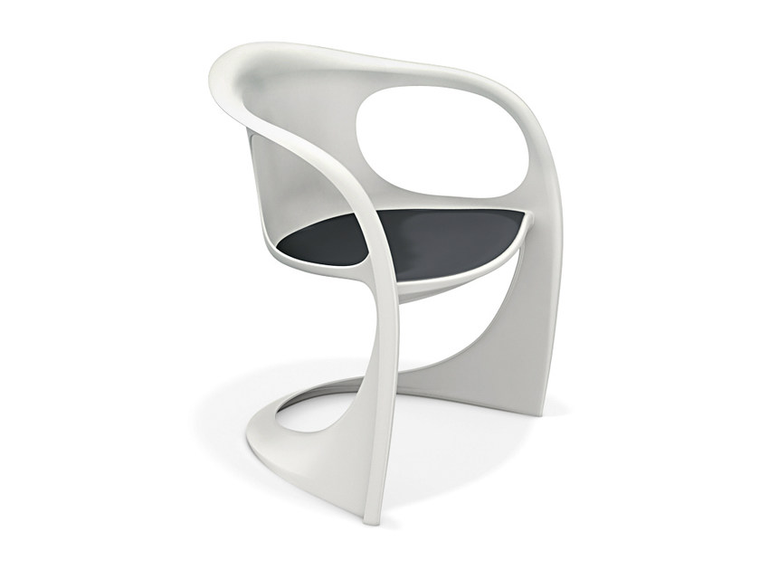 Cantilever chair with armrests CASALINO 2008-10 by Casala