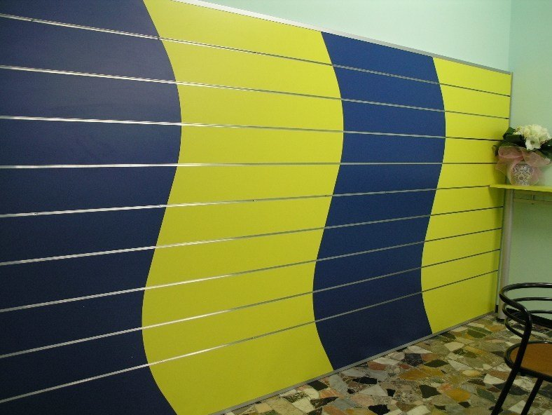 Coatings for shops Wall tiles by Castellani.it