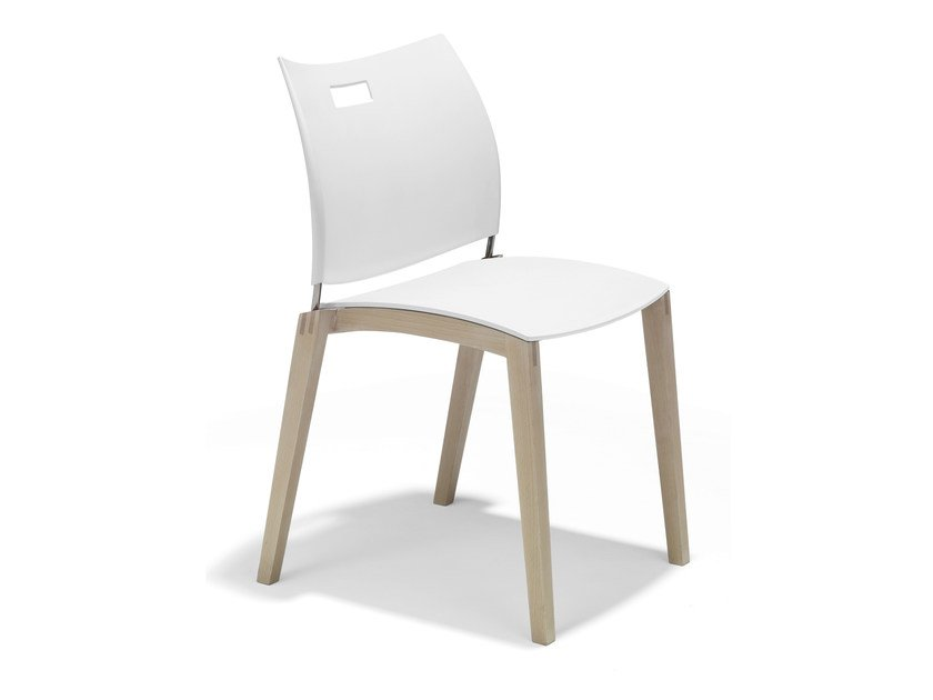 Stackable plastic chair CITO | Stackable chair by Casala