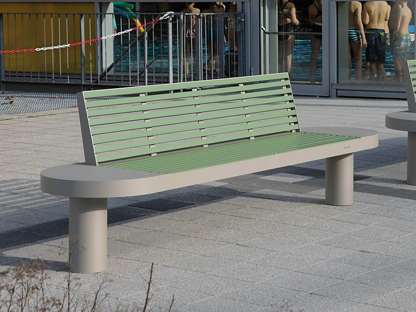 Bench with back COMFONY 90 | Bench by BENKERT BANKE