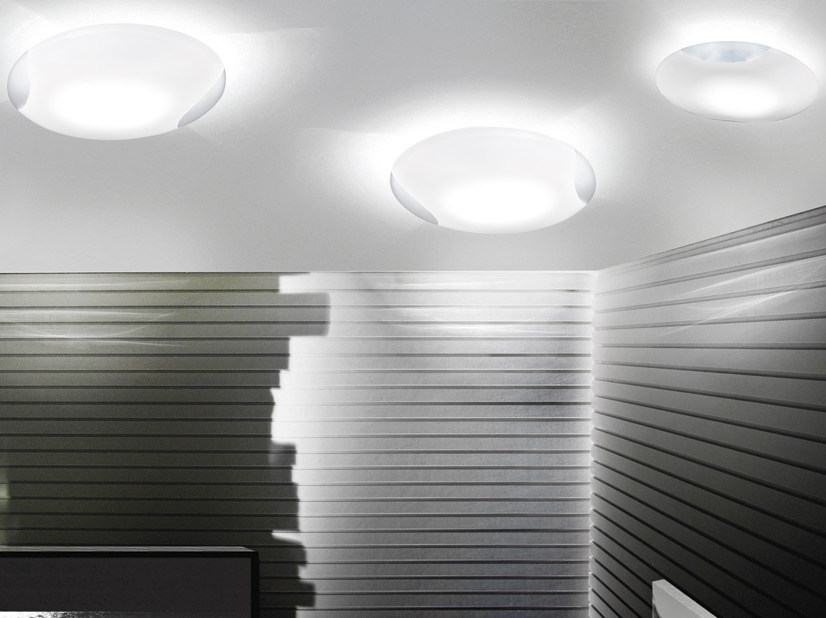 Glass ceiling light LIO PP by Vetreria Vistosi