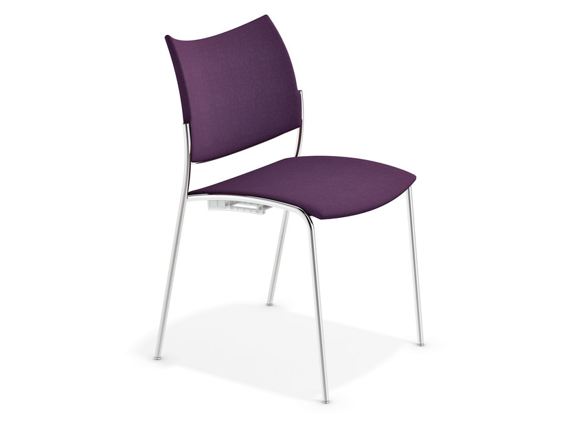 Fabric reception chair COBRA | Fabric chair by Casala