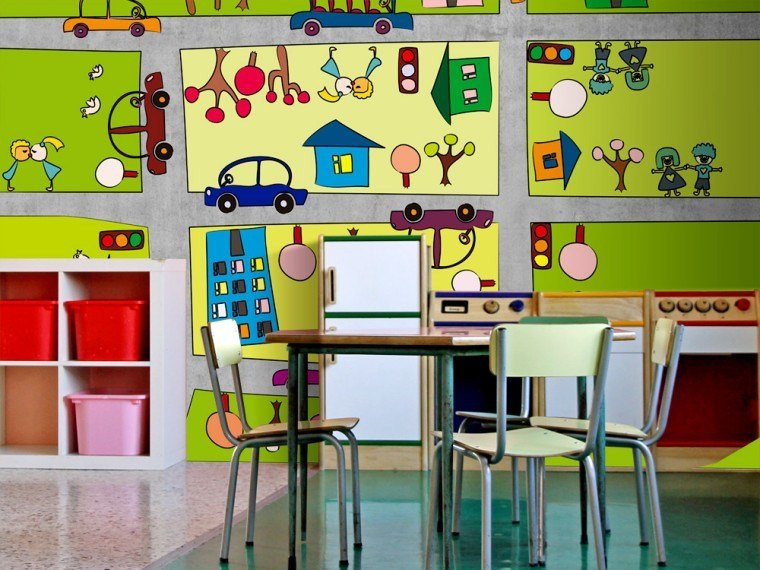Kids wallpaper BABYLAND by MyCollection.it