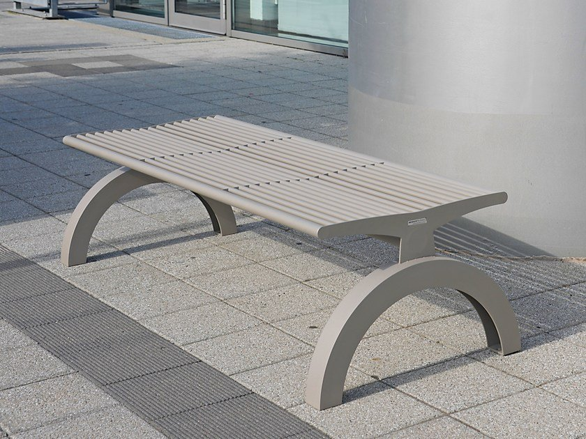 Backless Bench SIARDO 140R | Backless Bench by BENKERT BANKE