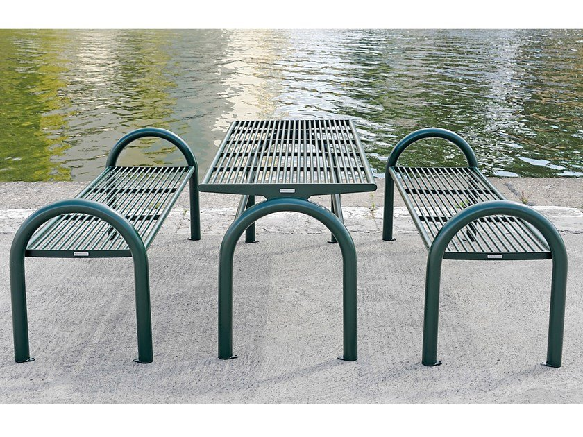 Table for public areas SIARDO 150 R | Table for public areas by BENKERT BANKE