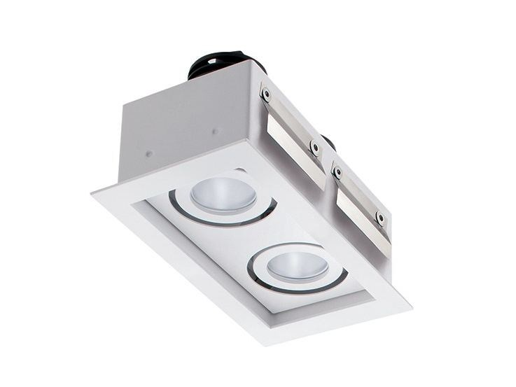 LED multiple recessed spotlight Quad Maxi 1.2 by L&L Luce&Light