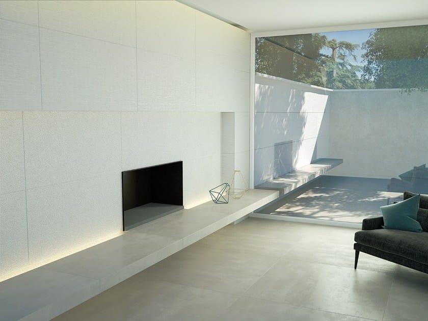 Porcelain stoneware wall/floor tiles LIGHT by DSG Ceramiche