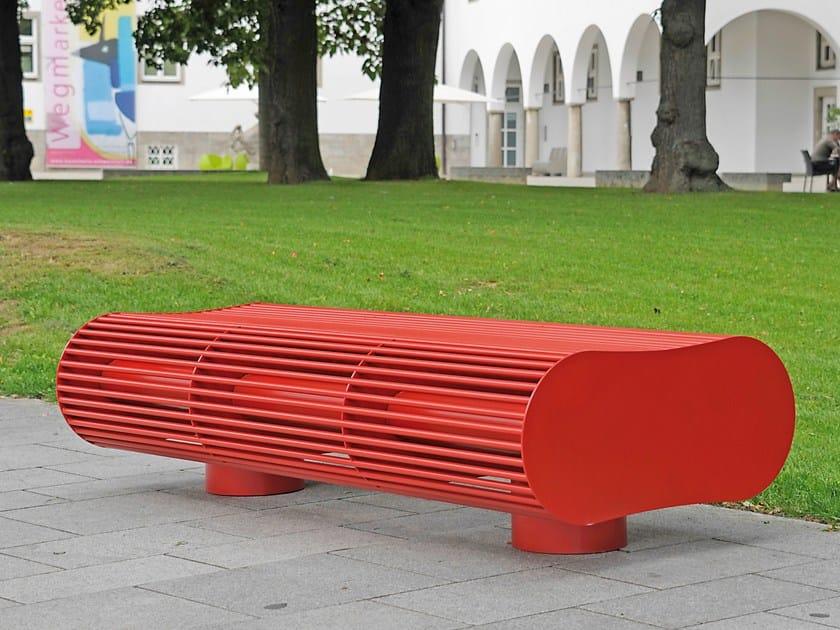 Backless Bench SIARDO 700 R   Backless Bench by BENKERT BÄNKE